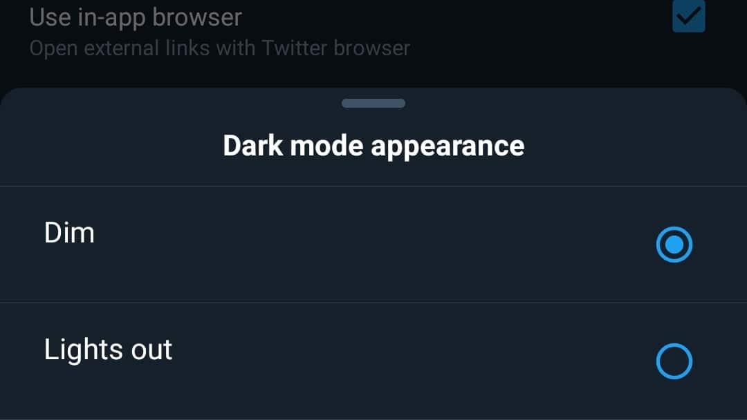 """تويتر تكشف عن وضع """"إطفاء النور"""" رسمياً لمستخدمي أندرويد وطريقة تشغيله"""