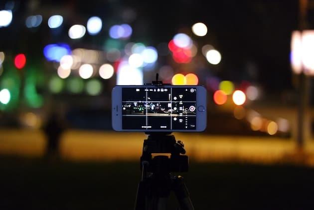 تثبيت وضعية التصوير